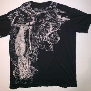 AFFLICTION Angel T-shirt XL